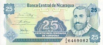 Banknote Index Banco Central De Nicaragua