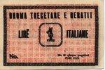 Albania, 1 Lira, S-0103r1