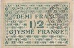 Albania, 1/2 Franc, S-0145b