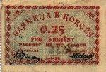 Albania, 0.25 Franga Argjent, S-0163