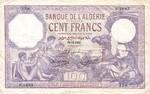 Algeria, 100 Franc, P-0081b