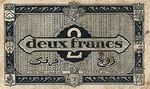 Algeria, 2 Franc, P-0099a A2
