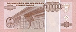 Angola, 500,000 Kwanza Reajustado, P-0140