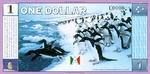Antarctica, 1 Dollar,