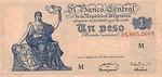 Argentina, 1 Peso, P-0257 v2