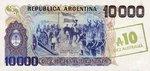 Argentina, 10 Austral, P-0322c