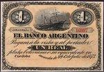 Argentina, 1 Real Plata Boliviana, S-1477