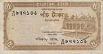 Bangladesh, 5 Taka, P-0015a,BB B9a