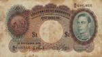Barbados, 1 Dollar, P-0002b v1