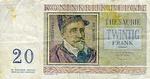 Belgium, 20 Franc, P-0132b