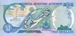 Bermuda, 2 Dollar, P-0050r