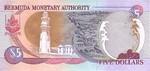 Bermuda, 5 Dollar, P-0051r