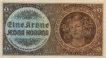 Bohemia and Moravia, 1 Koruna, P-0003a