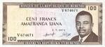Burundi, 100 Franc, P-0023b