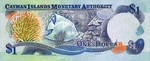 Cayman Islands, 1 Dollar, P-0021b