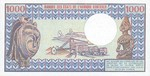 Central African Republic, 1,000 Franc, P-0010