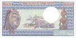Central African Republic, 1,000 Franc, P-0010
