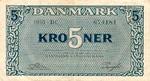 Denmark, 5 Krona, P-0035g