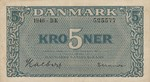 Denmark, 5 Krona, P-0035c