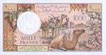 Djibouti, 1,000 Franc, P-0037c Sign.2