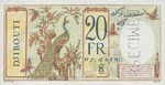 French Somaliland, 20 Franc, P-0007B