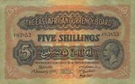 East Africa, 20 Shilling, P-0020