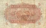 East Africa, 5 Shilling, P-0028b v4