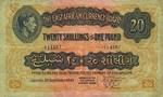 East Africa, 20 Shilling, P-0030b v1