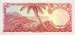 East Caribbean States, 1 Dollar, P-0013b Sign.3