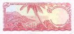 East Caribbean States, 1 Dollar, P-0013c Sign.4