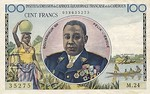 Equatorial African States, 100 Franc, P-0001f