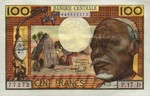 Equatorial African States, 100 Franc, P-0003d
