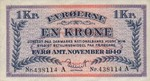 Faeroe Islands, 1 Krone, P-0009
