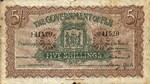 Fiji Islands, 5 Shilling, P-0025i