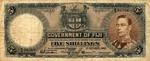 Fiji Islands, 5 Shilling, P-0037c