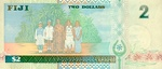 Fiji Islands, 2 Dollar, P-0096ar