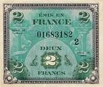 France, 2 Franc, P-0114b