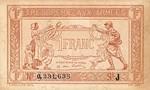 France, 1 Franc, M-0002