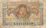 France, 10 Franc, M-0007a