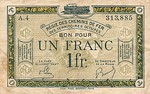 France, 1 Franc, R-0005