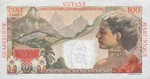 French Antilles, 1 New Franc, P-0001a