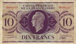 French Equatorial Africa, 10 Franc, P-0011a
