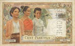 French Indochina, 100 Piastre, P-0097s