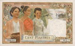 French Indochina, 100 Piastre, P-0097