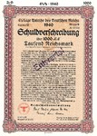 Germany, 1,000 Reichsmark,