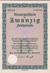 Germany, 20 Reichsmark,