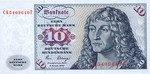 Germany - Federal Republic, 10 Deutsche Mark, P-0031d