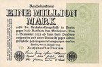 Germany, 1,000,000 Mark, P-0102b