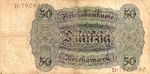 Germany, 50 Reichsmark, P-0177