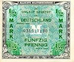 Germany, 1/2 Mark, P-0191a